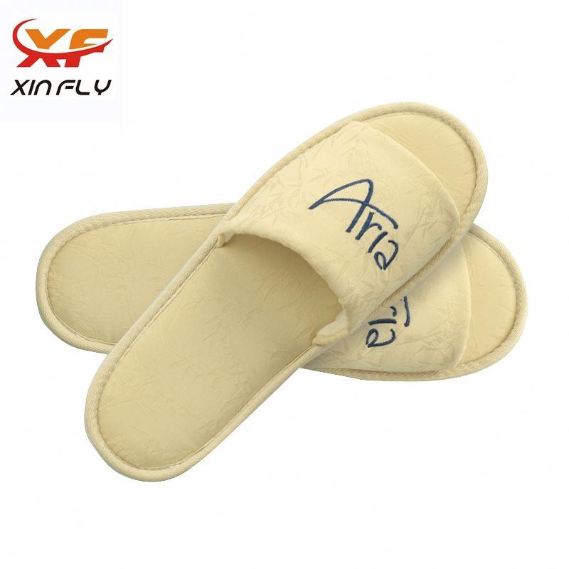 Luxury Open toe hotel room slipper wholesale