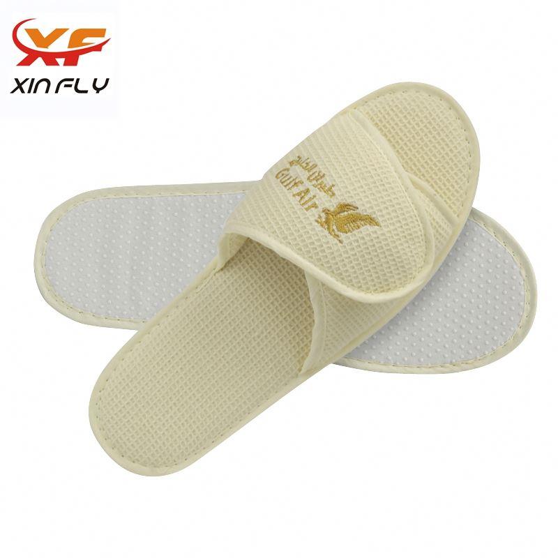 Comfortable Open toe non-woven hotel slipper wholesale uk