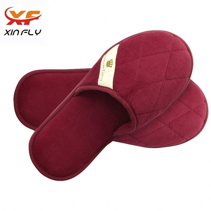 Yangzhou factory EVA sole spa cheap hotel slipper for Inn