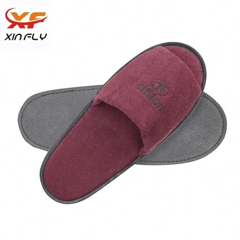 Yangzhou factory EVA sole hotel amenities slippers for Inn