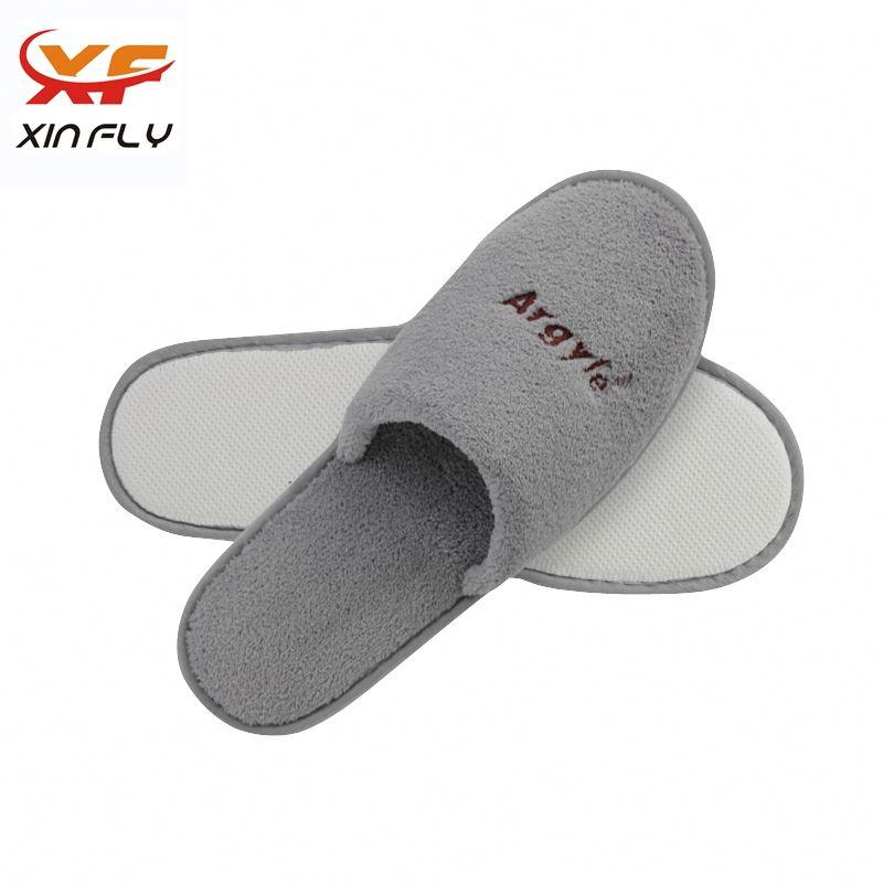 Washable EVA sole marriott hotel slippers with Custom logo