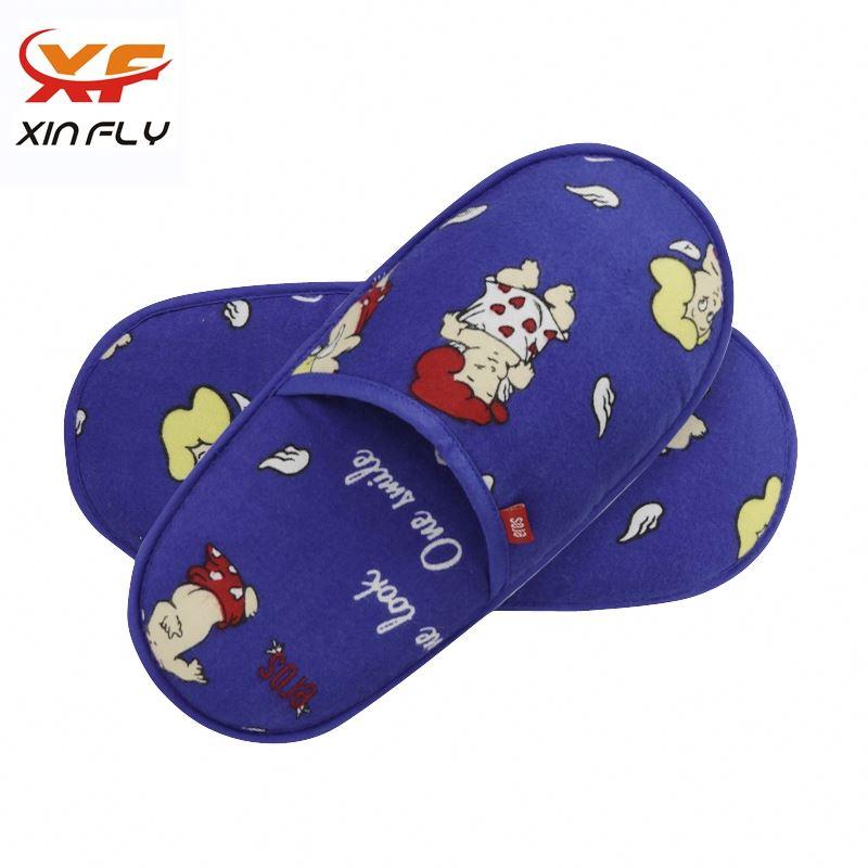 Sample freely EVA sole slipper for hotel wholesale uk