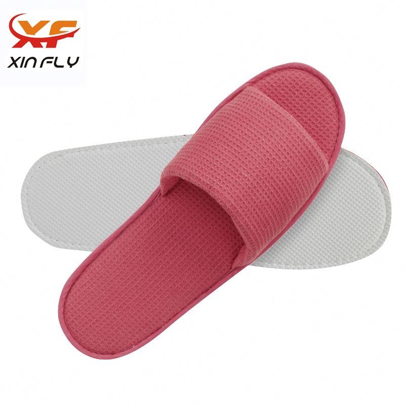 Soft Open toe stock hotel slipper wholesale uk