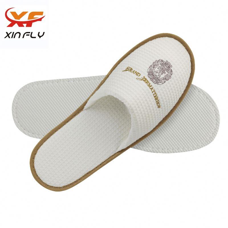 Yangzhou factory Closed toe eva for hotel slipper with logo