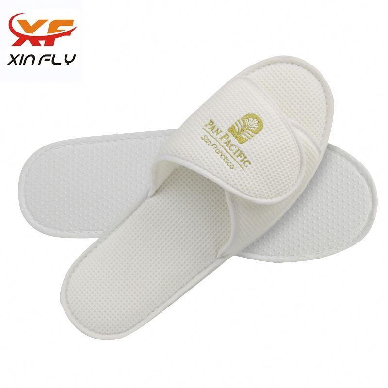 Luxury EVA sole cheaper hotel slipper supplier