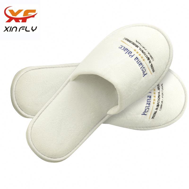 Luxury Closed toe hotel slipper wholesale