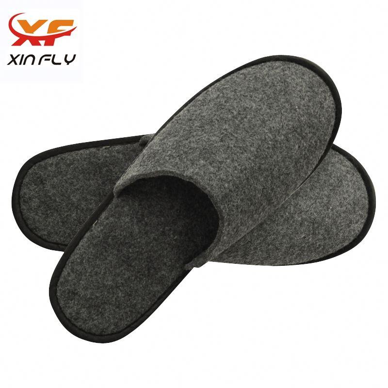 Soft Closed toe hotel cotton slipper for man