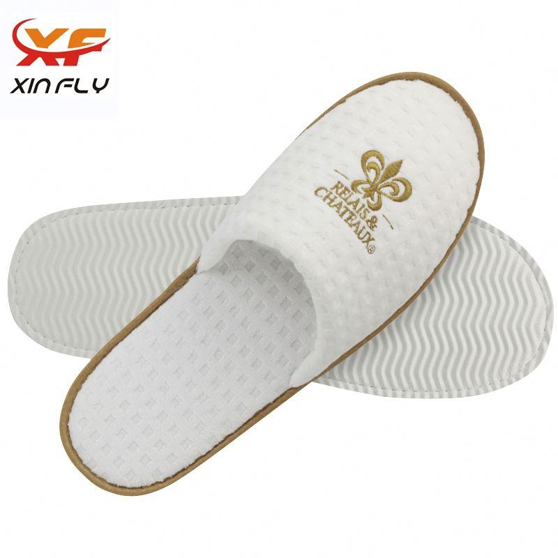 Cheap Open toe eva sole hotel slipper washable