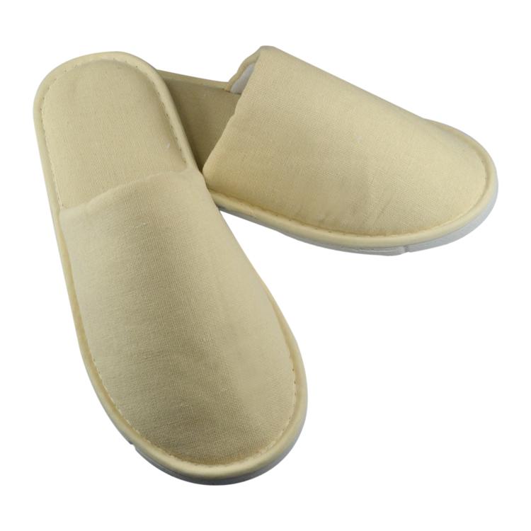 Cotton single jersey indoor slippers for bedroom