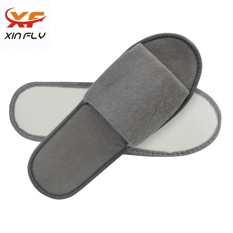 Sample freely Open toe hotel bath slippers wholesale uk
