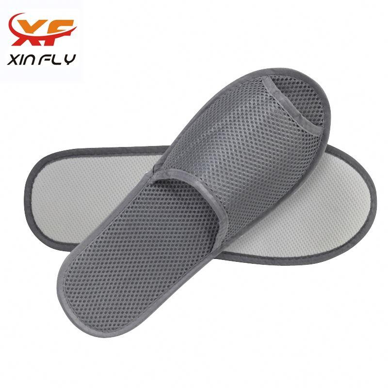 Yangzhou factory Closed toe hotel slipper shoe wholesale