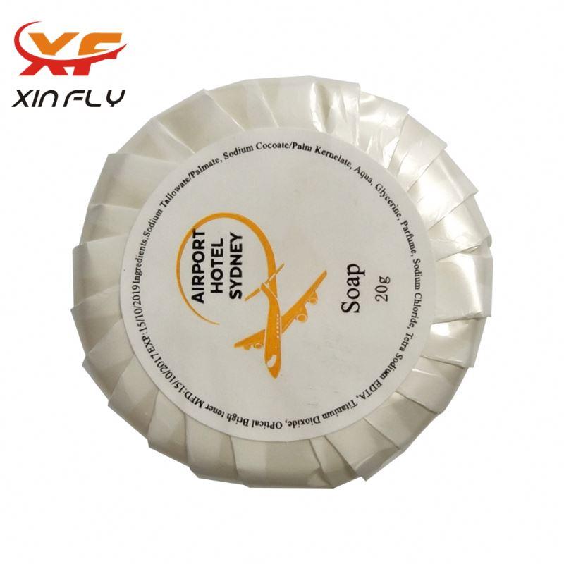 Customized Logo 35g hotel soap bar supplier