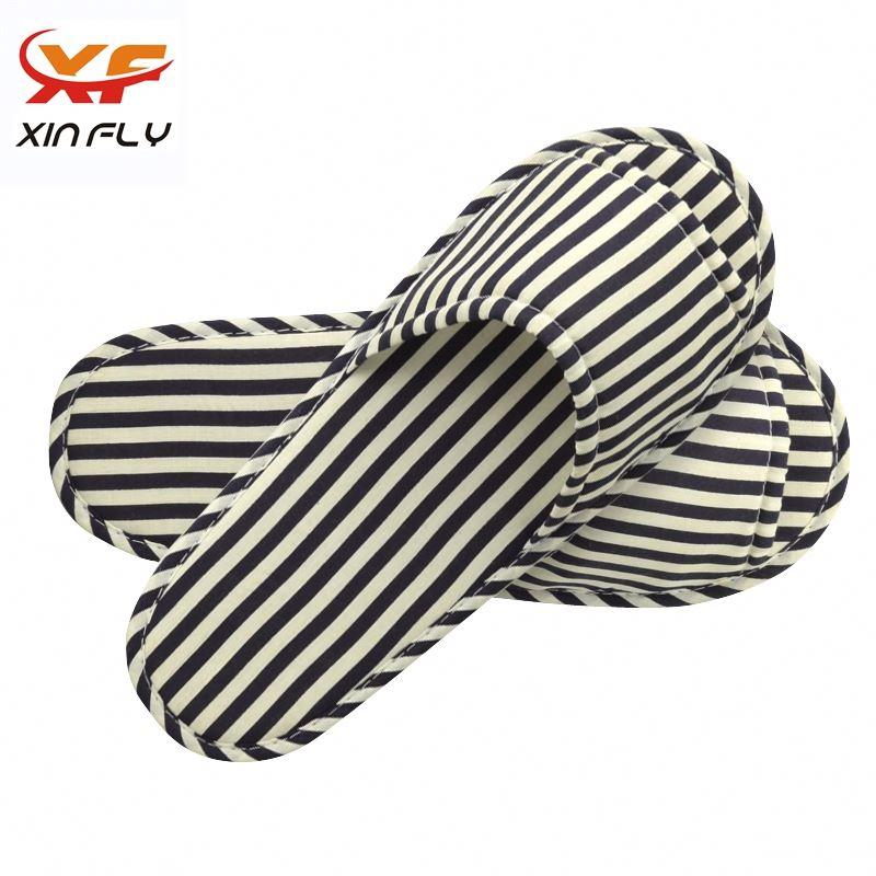 Washable EVA sole pleuche hotel slippers wholesale uk