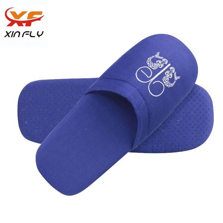 Comfortable Closed toe hotel non-woven slipper with Custom logo