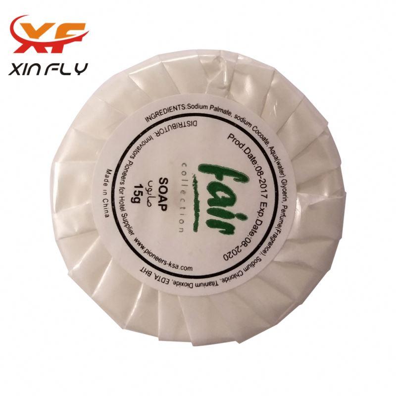 Customized mini hotel soap for motel