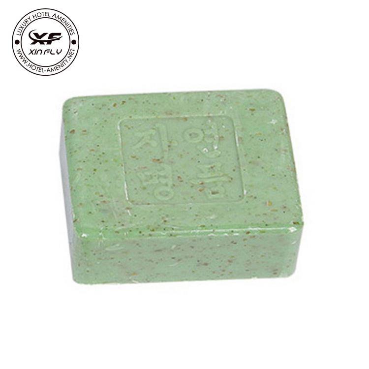 Handmade transparent soap
