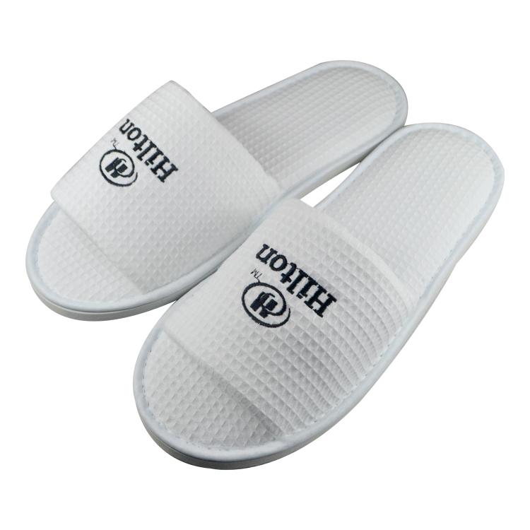 Open toe Waffle Indoor slipper for man