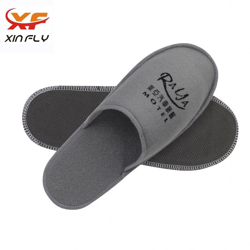 Sample freely Open toe promotion hotel slipper for