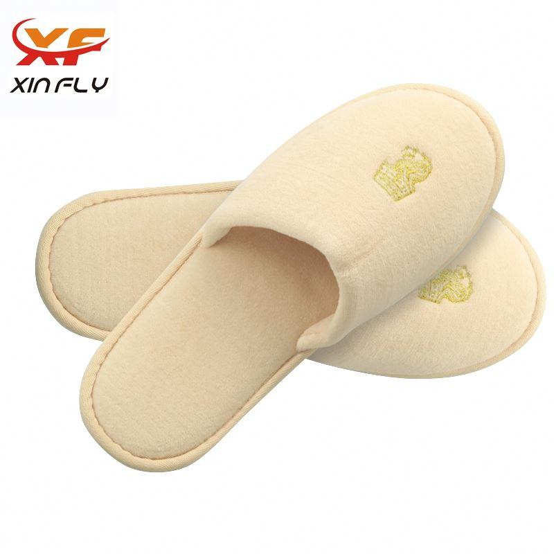 Yangzhou factory Closed toe hotel slipper for Guests