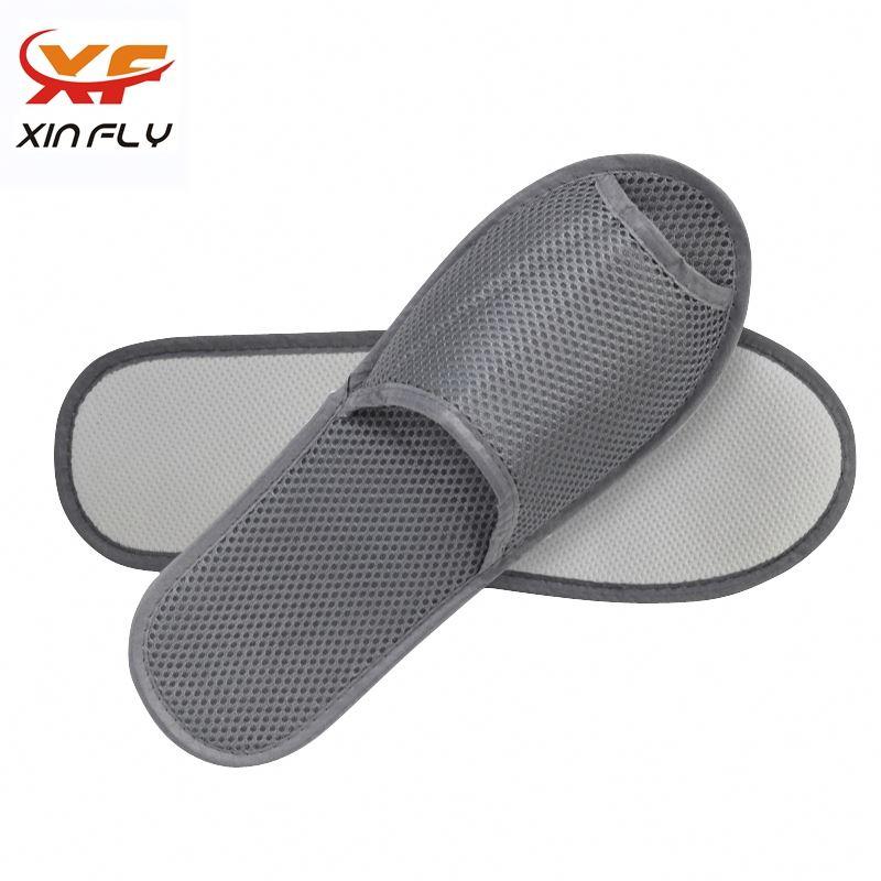 100% cotton EVA sole hotel velour slipper with Customized Logo