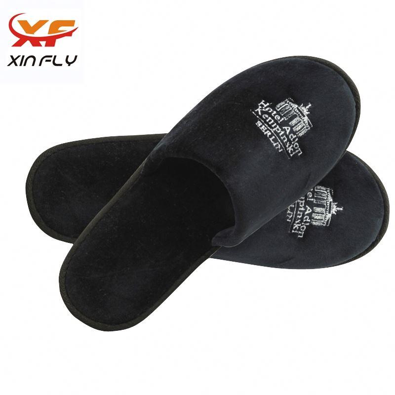 Personalized Open toe salon spa hotel slippers wholesale uk