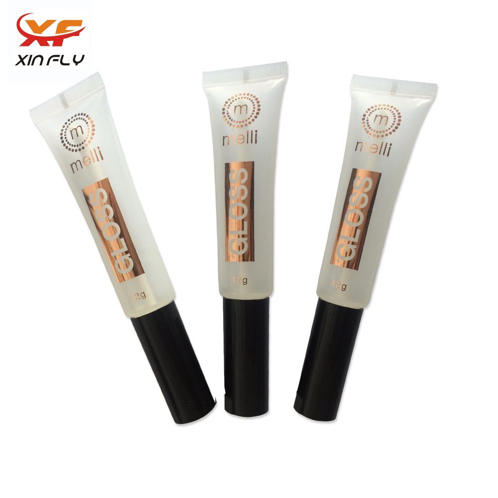 Nuovo design 10ml 15 ml Vuoto Lip Gloss Tube con pennello