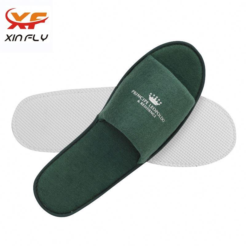 Washable EVA sole hotel/spa slipper with Custom logo