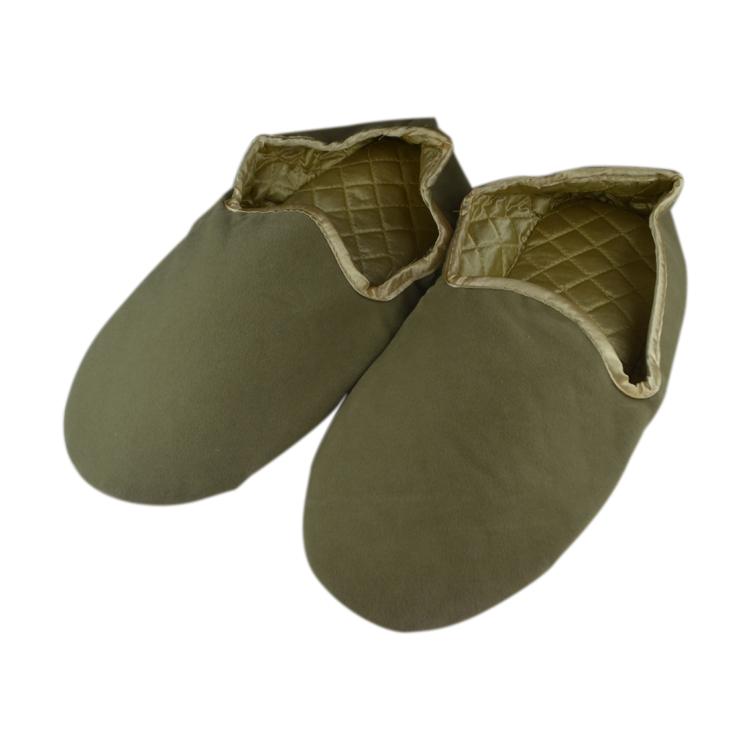 Yangzhou factory EVA sole Soft velour Indoor slipper for hotel
