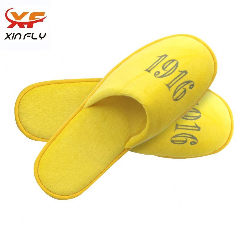 Cheap Closed toe oem hotel slipper supplier