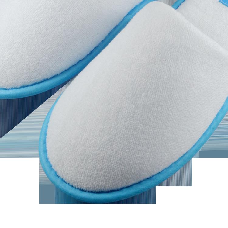 Comfortable Flip flops Velveteen Hotel slipper